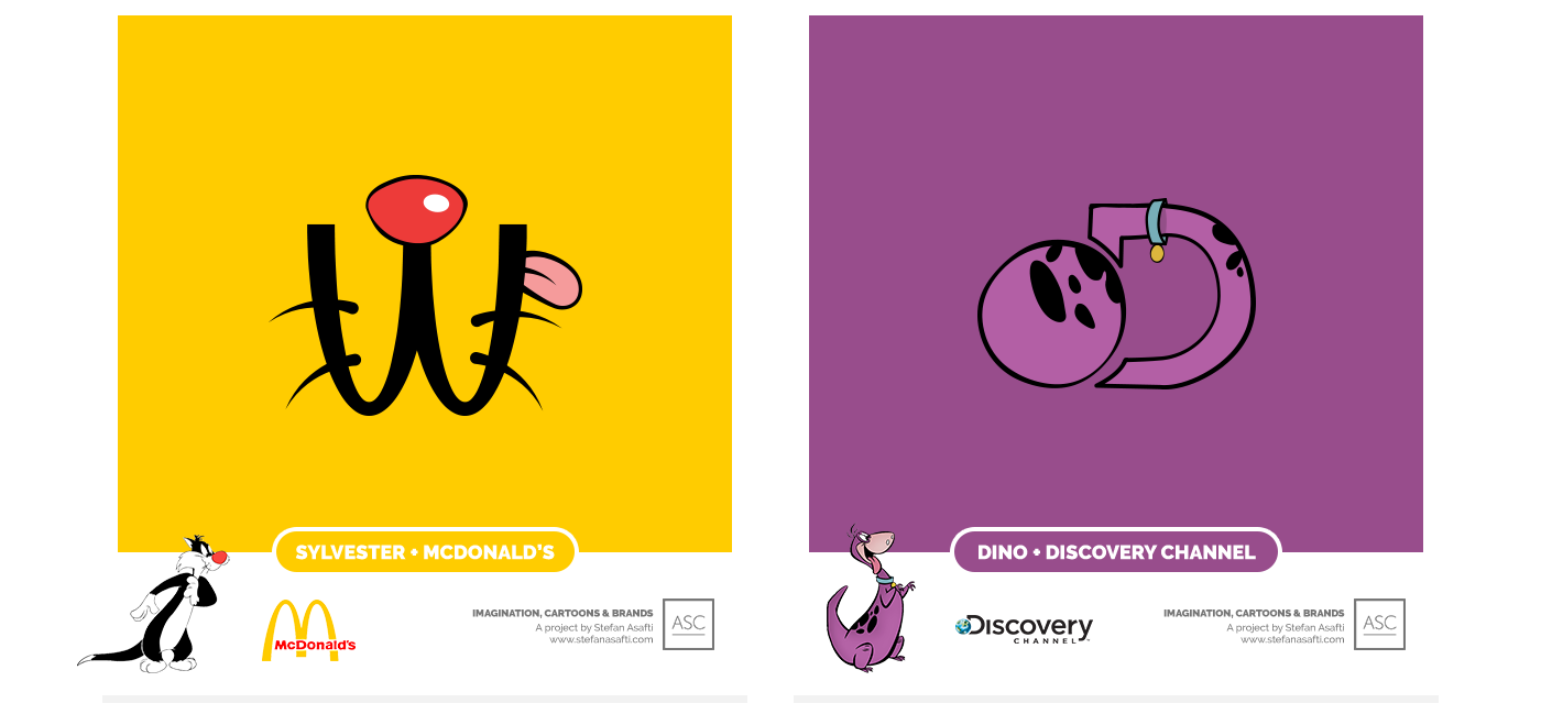 mcdonalds and discovery channel, Sylvester, dino