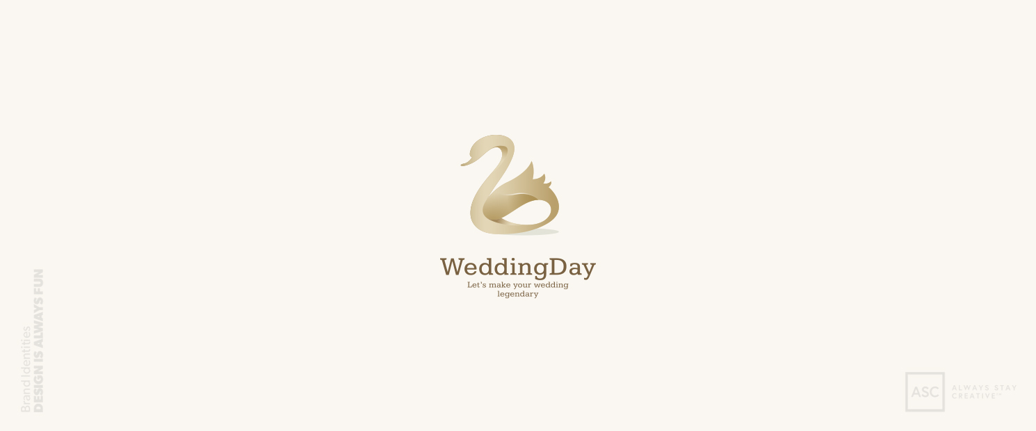 Wedding Day Brand Identity featured in Logo Lounge Book 10