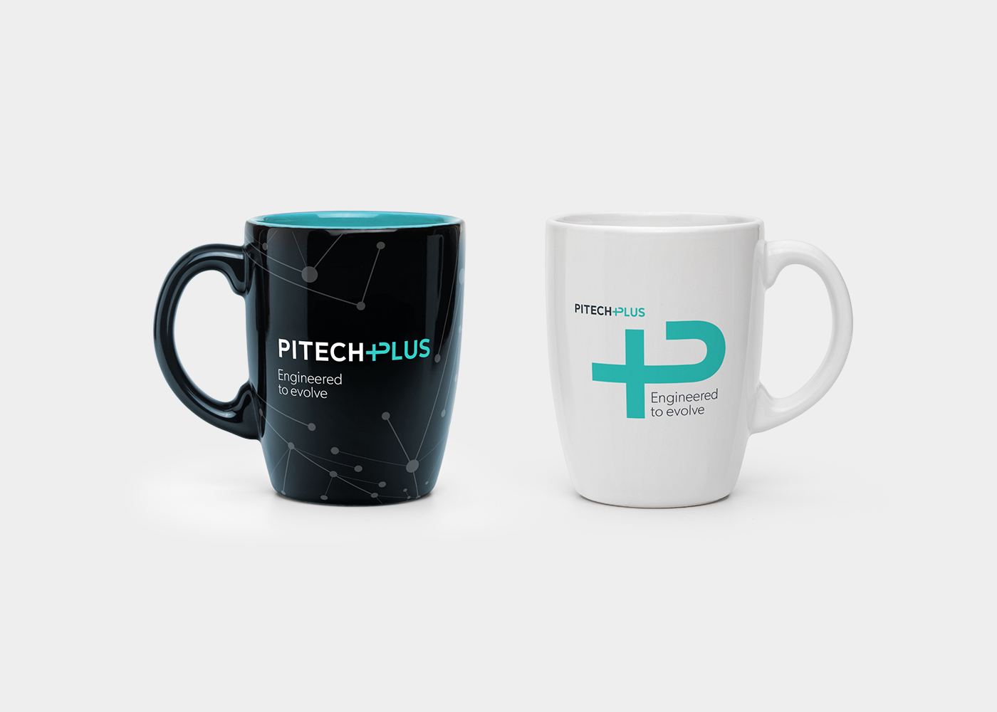 Pitech Plus mugs