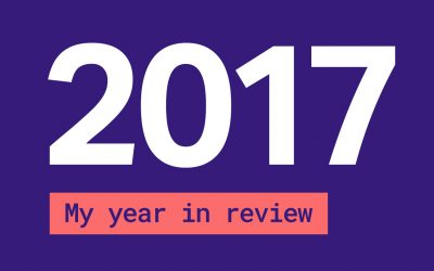 My year in review – 10 personal achievements that I celebrate for 2017