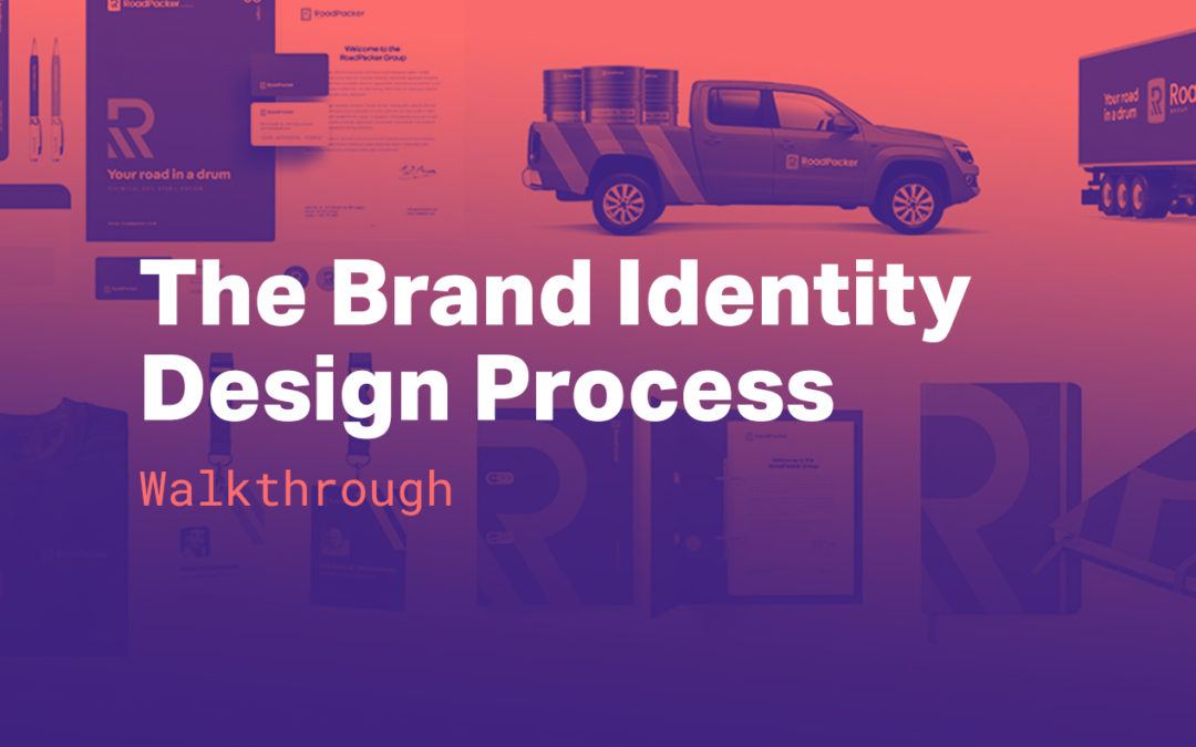 The Brand Identity Design Process – 10 steps walkthrough